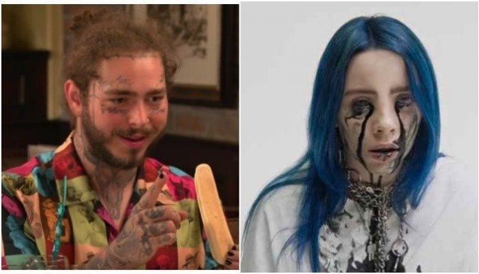 Post Malone, Billie Eilish featured on 'Forbes' 30 under 30 list