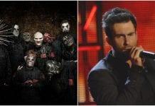 Corey Taylor, Slipknot, Adam Levine, Maroon 5