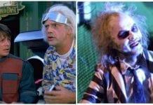 Beetlejuice, Back To The Future Funko 80s tees