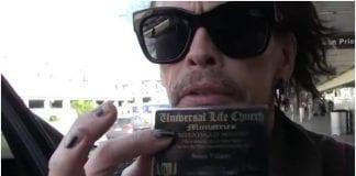 Steven Tyler, ordained