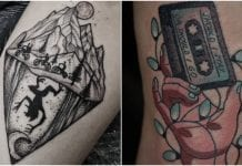 stranger things tattoos
