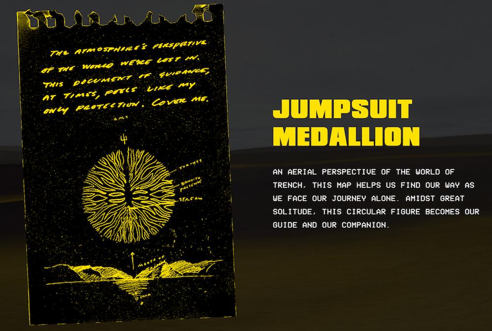 bandito experience jumpsuit medallion