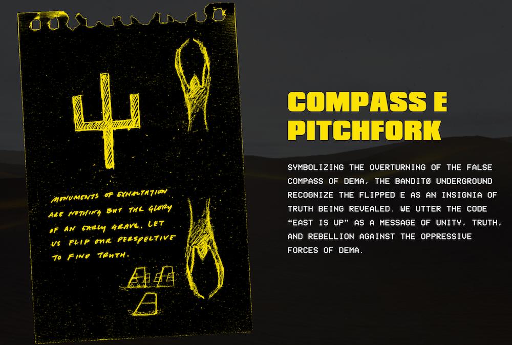 bandito experience compass e pitchfork