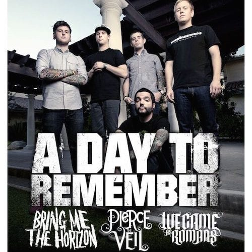 The Gamechangers Tour 2011 (A Day To Remember, Bring Me The Horizon, We Came As Romans, Pierce The Veil)