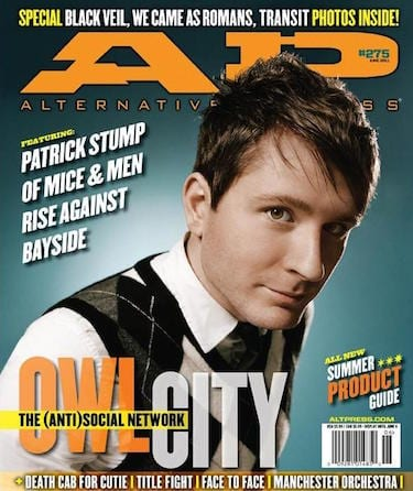 Owl City, Issue #275, June 2011