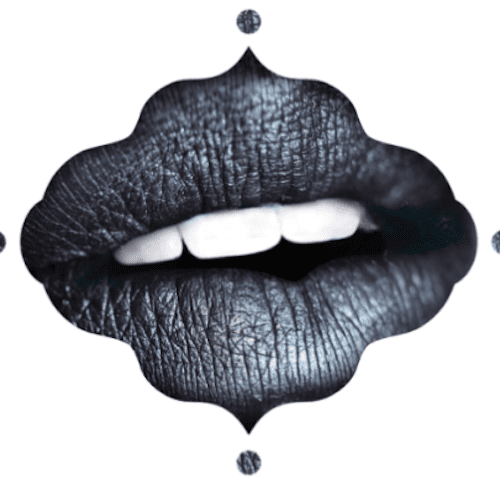 "Black Moon Cosmetics Black Metals Liquid Lipstick in ""Castle"" – $18"