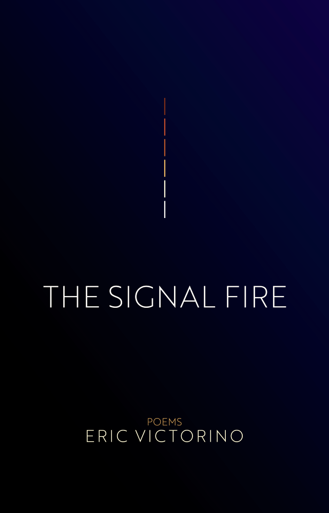 Eric Victorino the signal fire poetry book
