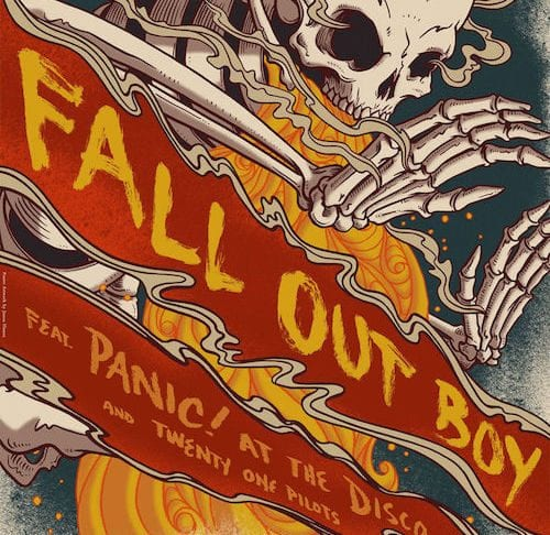 Fall Out Boy with Panic! At The Disco and twenty one pilots (2013)