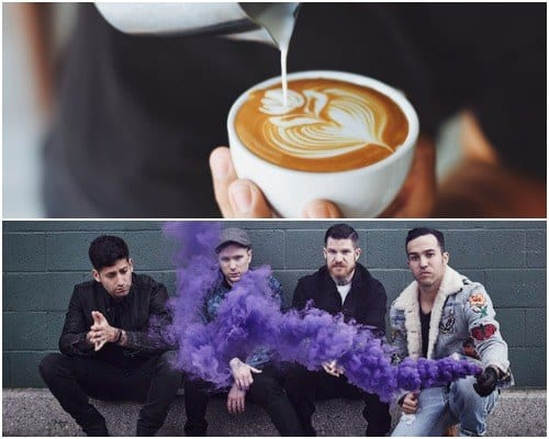 Fall Out Boy Coffee