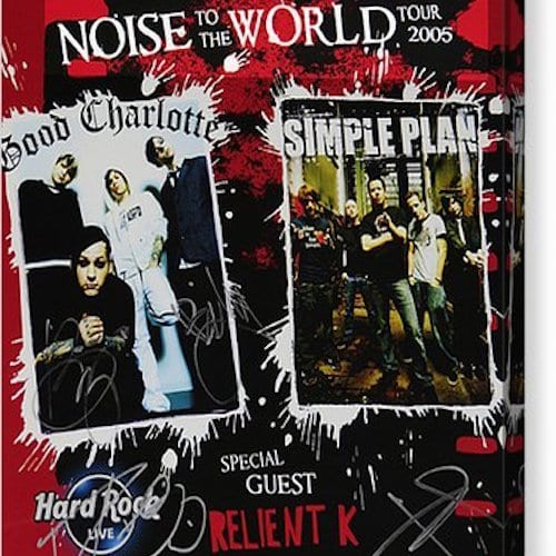 Noise To The World Tour 2005 (Good Charlotte, Simple Plan, Relient K)