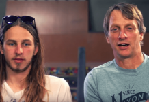 Riley Hawk, Tony Hawk