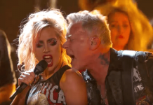 Lady Gaga, Metallica 59th Grammys
