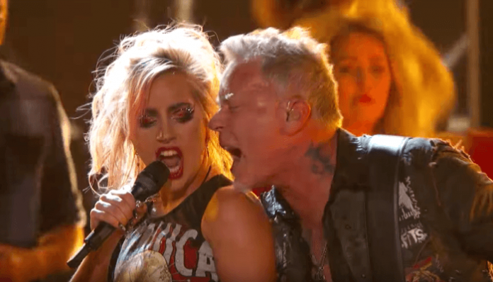 Lady Gaga, Metallica 59th Grammys