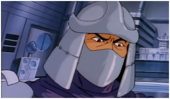 Shredder, 'Teenage Mutant Ninja Turtles'