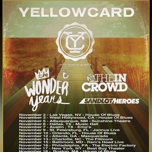 Yellowcard with the Wonder Years (2012)