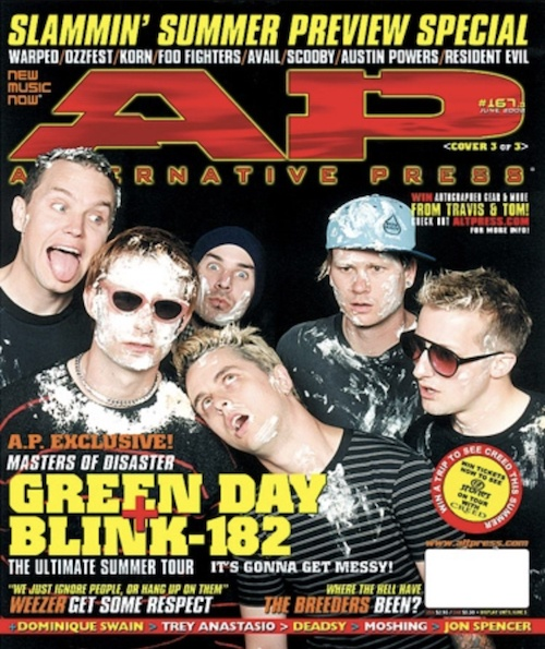 The Pop Disaster Tour 2002 (blink-182, Green Day)