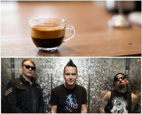 blink-182 coffee