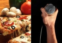 pizza mic hardcore punk
