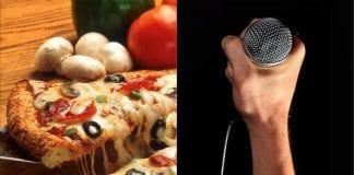 pizza mic hardcore punk