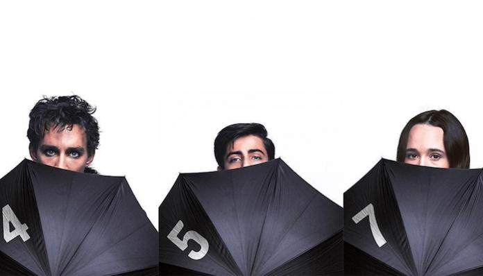 gerard way the umbrella academy