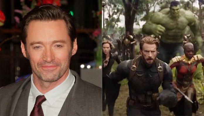 Hugh Jackman, 'Avengers: Infinity War' still