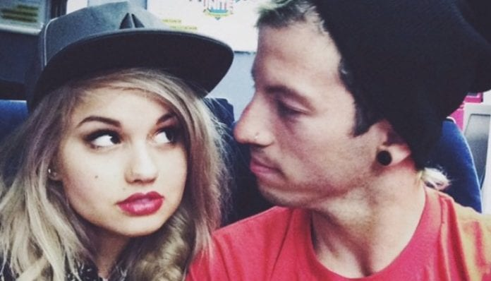 Josh Dun and Debby Ryan