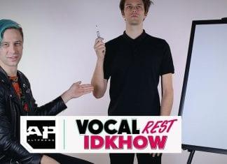 idkhow vocal rest