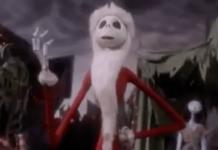 nightmare before christmas santa