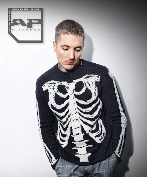 Bring Me The Horizon Oli Sykes Alternative Press 2018