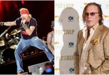 Axl Rose, Mickey Rourke