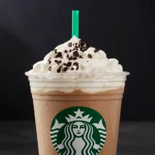 starbucks black and white frappuccino