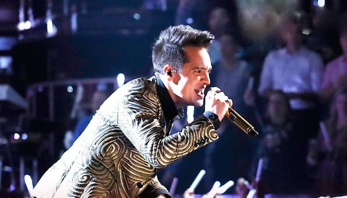 Brendon Urie Brings Panic At The Disco To The Voice Finale
