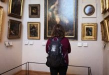 Black Horizon, museum gallery, art