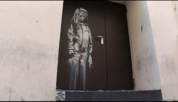 Banksy mural stolen in Paris