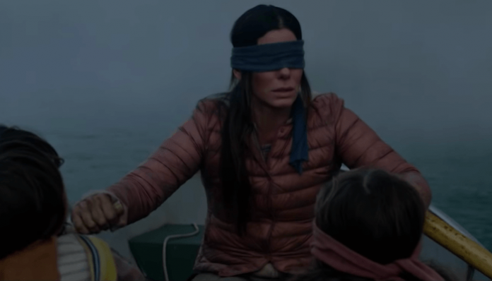 'Bird Box' challenge leads to blindfolded driver crashing car