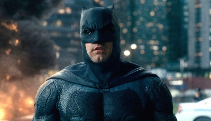 Ben Affleck as Batman in 'Justice League'