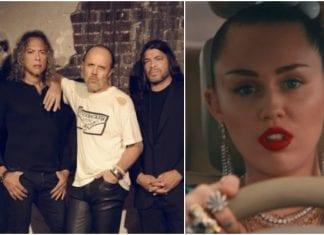 Metallica and Miley Cyrus