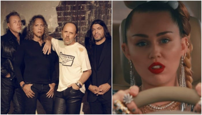 "Metallica's Lars Ulrich ""stunned"" by Miley Cyrus' Chris Cornell tribute"