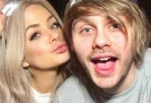 Michael Clifford and Crystal Leigh