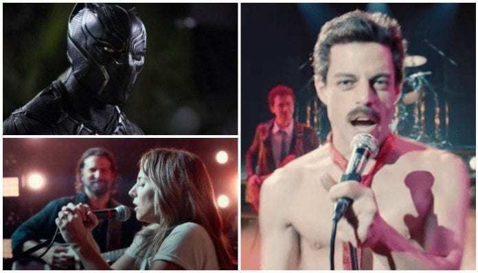 oscars 2019 black panther a star is born bohemian rhapsody