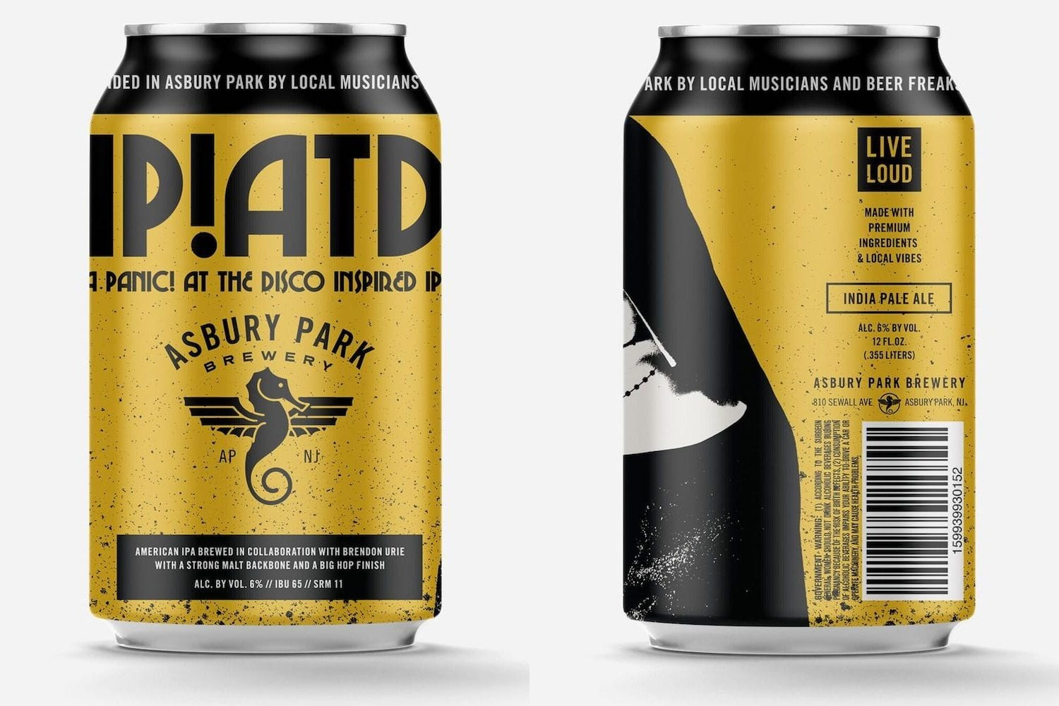 panic at the disco beer ipatd