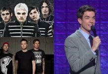 john mulaney my chemical romance