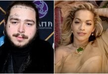 Post Malone, Rita Ora