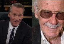 Stan Lee, Bill Maher