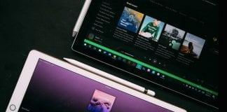 Spotify on Apple iPad