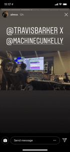 Machine Gun Kelly, Travis Barker