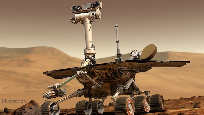 Mars Rover gives super emo final goodbye to NASA before death