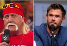 Hulk Hogan, Chris Hemsworth