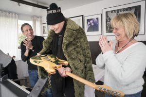Smashing Pumpkins' Billy Corgan reunited with guitar