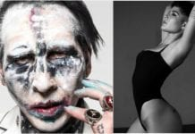 Halsey and Marilyn Manson